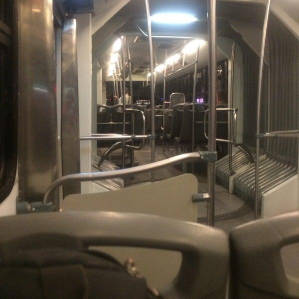 Photo taken at Metrobús Hamburgo L1 by Vax N. on 2/19/2014