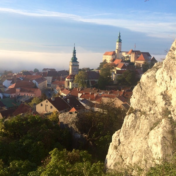 Photo taken at Zámek Mikulov by Ekaterina B. on 10/20/2014