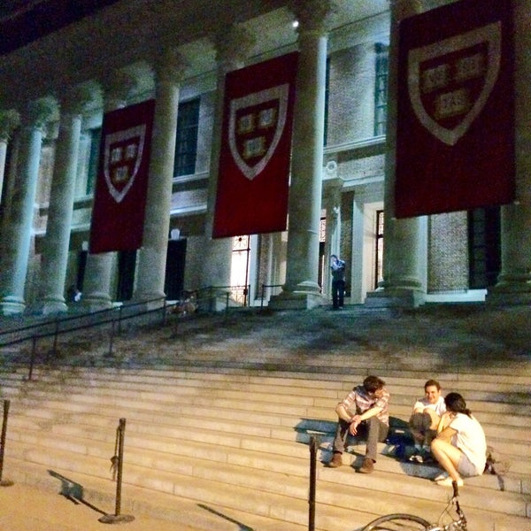 Photo taken at Widener Library by Jeffrey G. on 5/26/2016