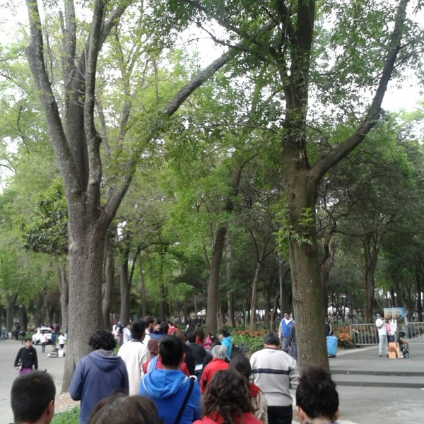 Photo taken at Bosque de Chapultepec by Norma M. on 3/9/2014