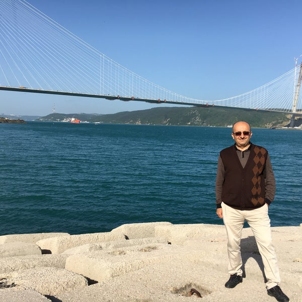 Photo taken at Poyrazköy Sahil by Ömer Ö. on 5/15/2016