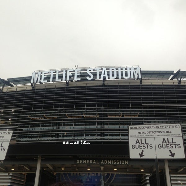Photo taken at MetLife Stadium by Athina F. on 7/25/2013