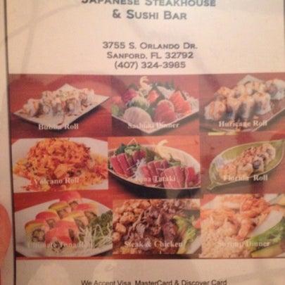 Photo taken at Yabi Sushi by Christina H. on 7/24/2012