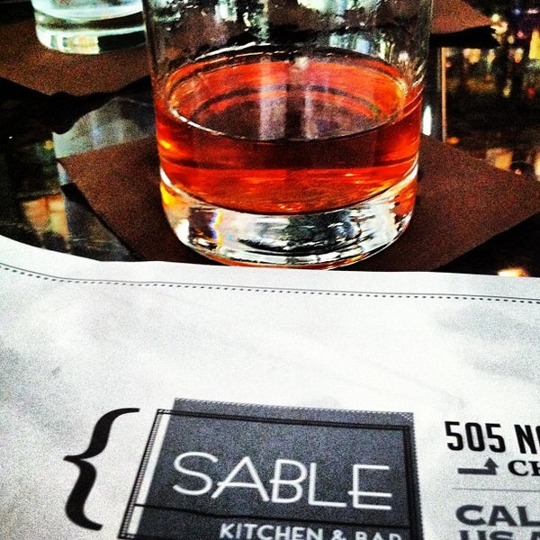 Photo taken at Sable Kitchen & Bar by Brian G. on 7/28/2012