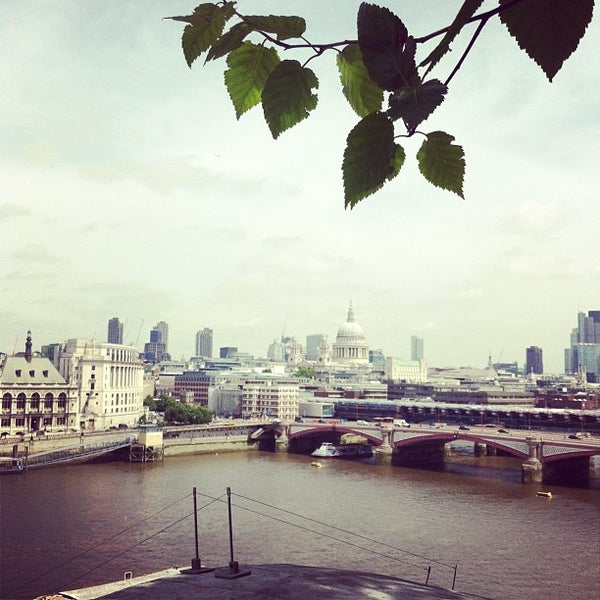 Photo taken at OXO Tower Brasserie by Aidan C. on 6/27/2012