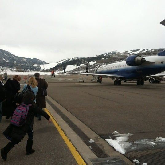 Photo taken at Aspen/Pitkin County Airport (ASE) by Ben S. on 2/29/2012