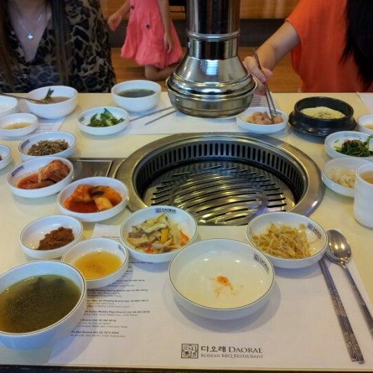 Photo taken at Daorae Korean BBQ Restaurant by Doris Q. on 8/22/2012
