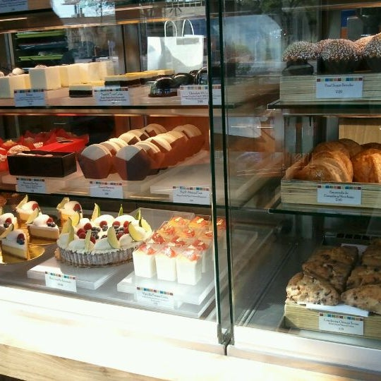 Photo taken at CIA Bakery Cafe by Sarah T. on 3/11/2012