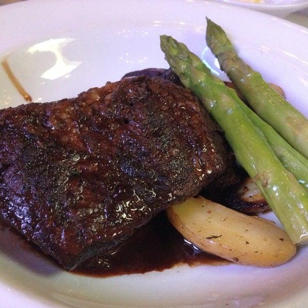 Photo taken at Al Biernat's Prime Steak & Seafood by Vivian L. on 8/23/2013