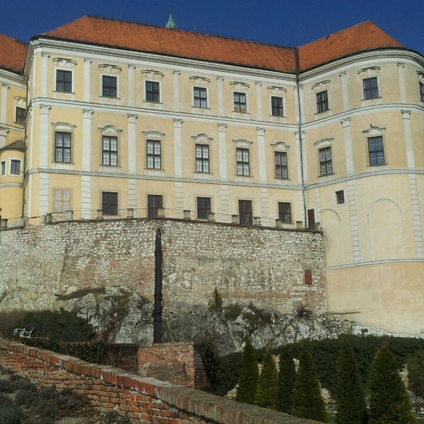 Photo taken at Zámek Mikulov by Ingrid V. on 3/9/2014