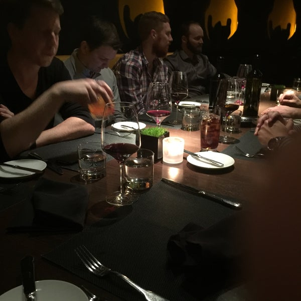 Photo taken at Jean Georges Steakhouse by Nate F. on 1/17/2016