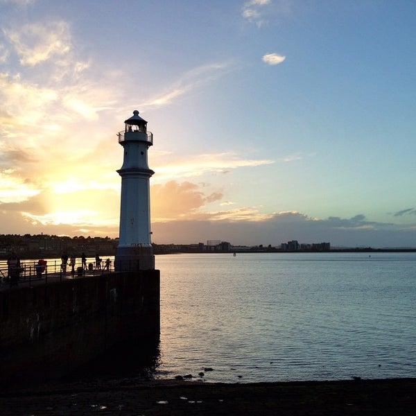Photo taken at Newhaven Harbour by Ewan M. on 10/18/2014