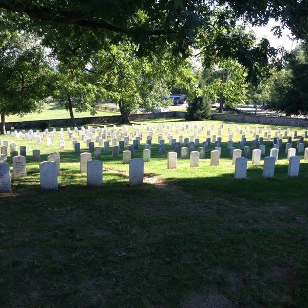 Photo taken at Gettysburg National Cemetery by Rob M. on 7/26/2013