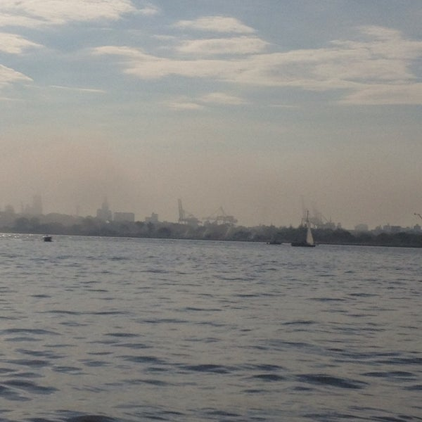 Photo taken at New York Harbor by Gabs S. on 6/9/2013