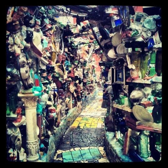 Photo taken at Philadelphia's Magic Gardens by mitzanator on 10/2/2012