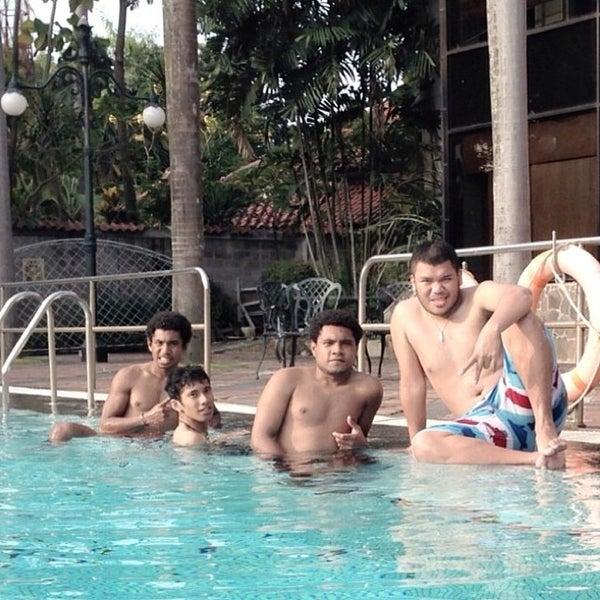 Photo taken at Graha Residence Swimming Pool by Novan Setyo I. on 7/28/2014