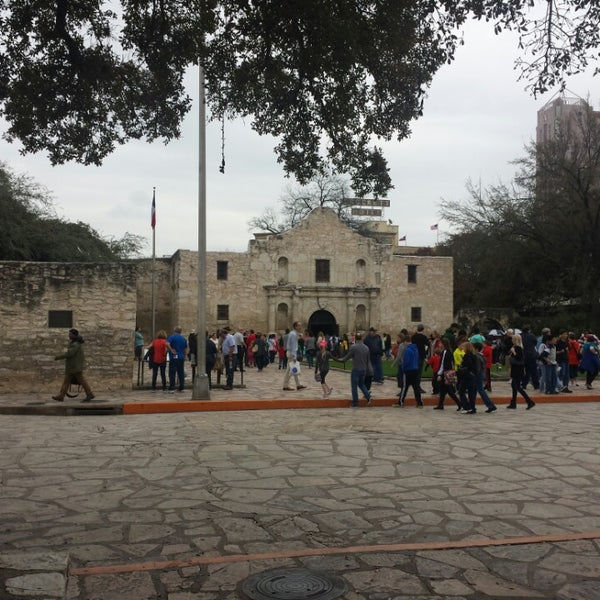 Photo taken at The Alamo by Paul D. on 3/10/2014