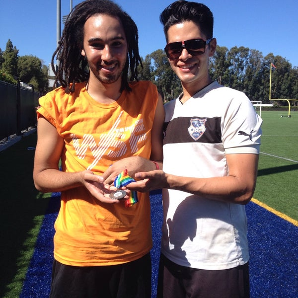 Photo taken at UCLA Intramural Field by Nathaniel M. on 9/6/2015