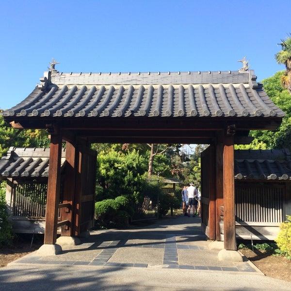 Photo taken at Japanese Friendship Garden by Rachel on 8/9/2014