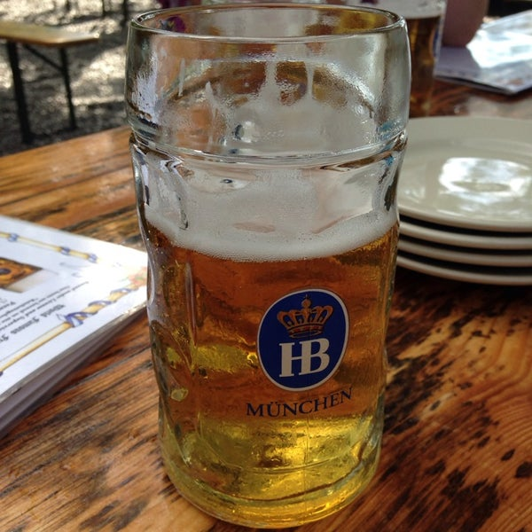 Photo taken at Hofbräuhaus Newport by Bill B. on 6/28/2014