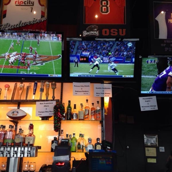 Photo taken at On Deck Sports Bar & Grill by Jeri B. on 12/15/2013