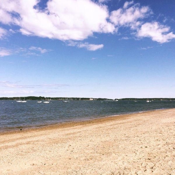 Photo taken at East End Beach by Scott S. on 8/23/2014