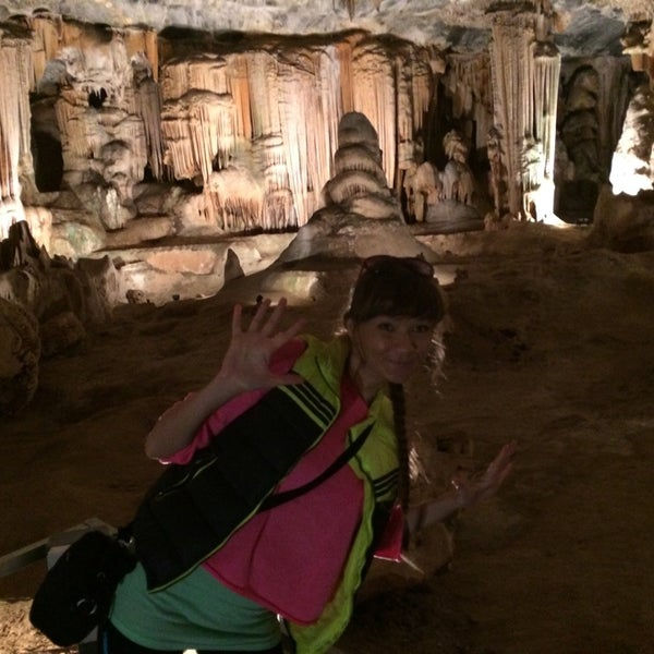 Photo taken at Cango caves by Valeria V. on 5/1/2014