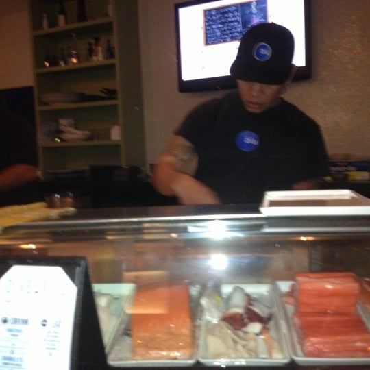 Photo taken at Blu Sushi by Yoanna on 10/7/2012