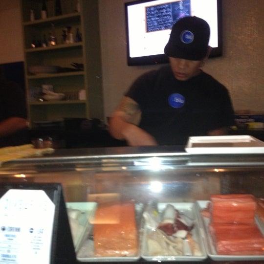 Photo taken at Blu Sushi by Yoanna on 10/7/2012