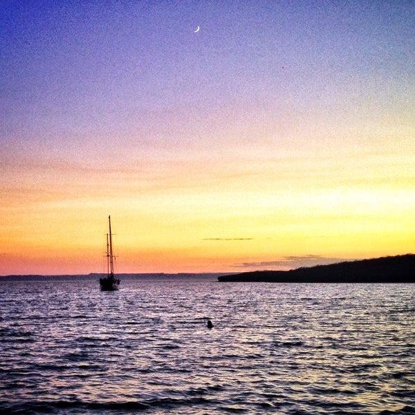 Photo taken at Playa Pichilingue by Michael M. on 7/30/2014