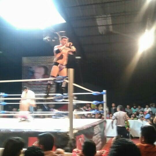 Photo taken at Arena Adolfo Lopez Mateos by Mirna H. on 7/3/2016