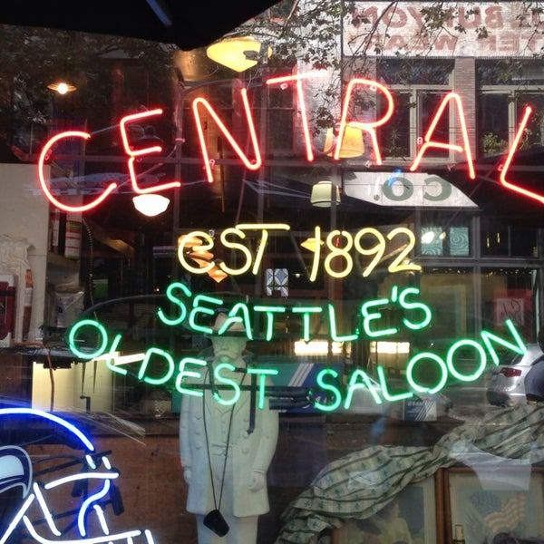 Photo taken at The Central Saloon by George G. on 9/2/2013