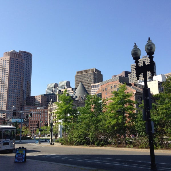 Photo taken at Old Town Trolley Tours of Boston by Ame C. on 5/24/2015