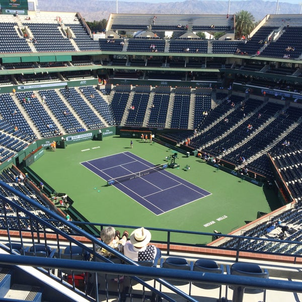 Photo taken at Indian Wells Tennis Garden by Marc L. on 3/21/2015