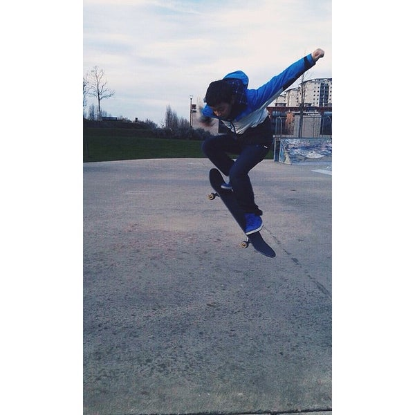 Photo taken at Skate Park by Alessandro B. on 1/10/2015