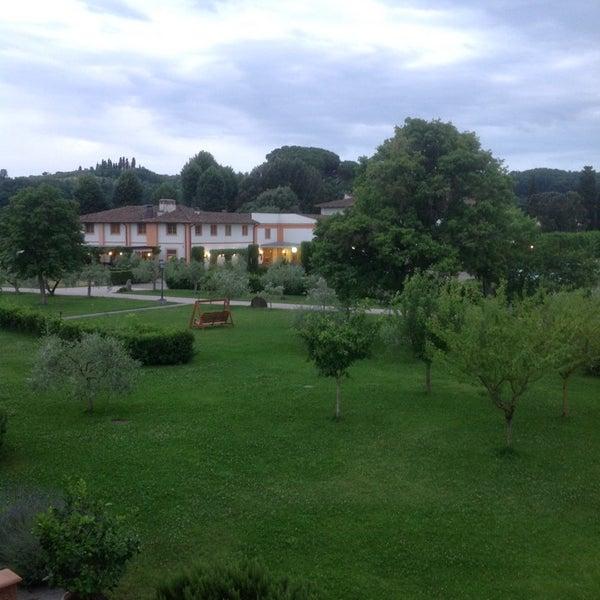 Photo taken at Villa Olmi Firenze by Carlo V. on 6/15/2014