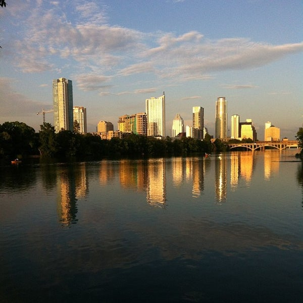Photo taken at Lady Bird Lake Trail by Aaron U. on 6/16/2013