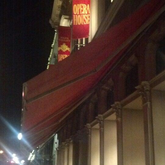 Photo taken at Napa Valley Opera House by Keri C. on 2/17/2013