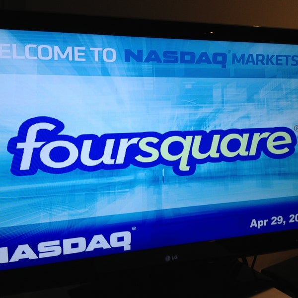 Photo taken at Nasdaq Marketsite by Helen on 4/29/2013