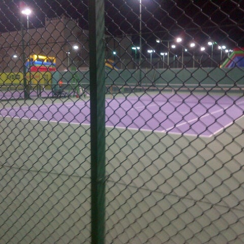 Photo taken at Qatar Tennis Federation by $Rohit$ K. on 1/3/2013
