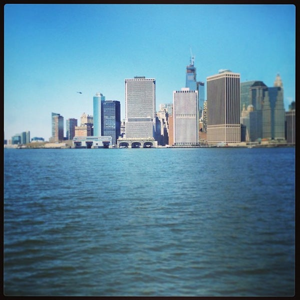 Photo taken at Staten Island Ferry Boat - Guy V. Molinari by Basile V. on 4/6/2013