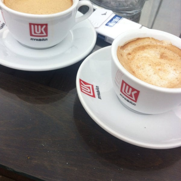 Photo taken at LukOil Straza by Elena G. on 9/13/2014