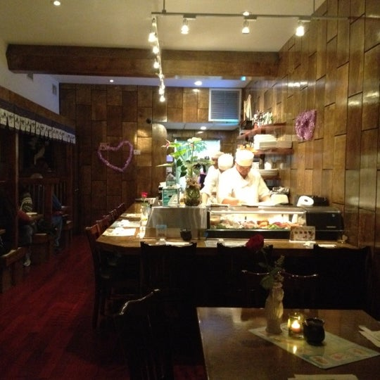 Photo taken at Tomo Japanese Cuisine by Jimbo G. on 2/18/2012