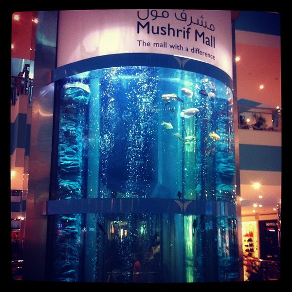 Photo taken at Mushrif Mall by Jaffer S. on 9/21/2012