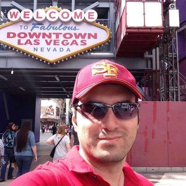 Photo taken at Downtown Las Vegas by Salim Ü. on 3/22/2015