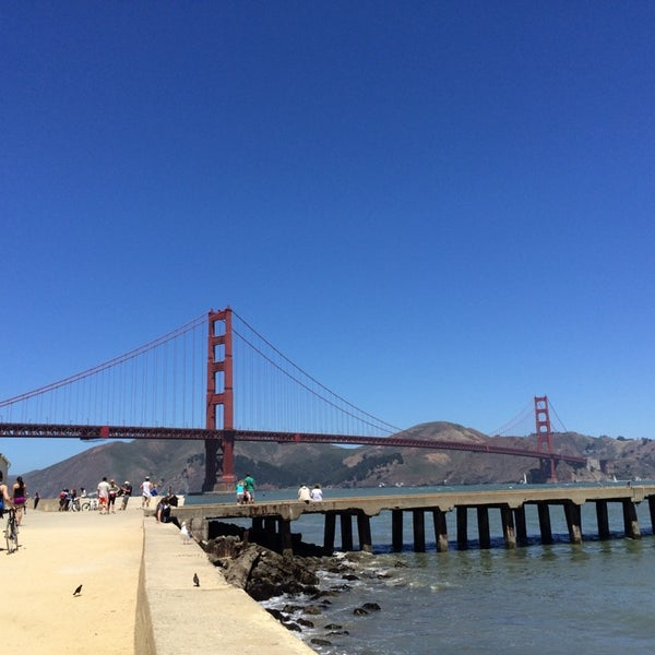 Photo taken at Crissy Field by Jessica K. on 6/29/2014