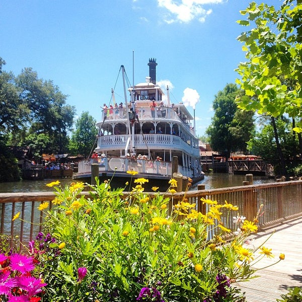 Photo taken at Frontierland by Jonathan R. on 5/8/2015