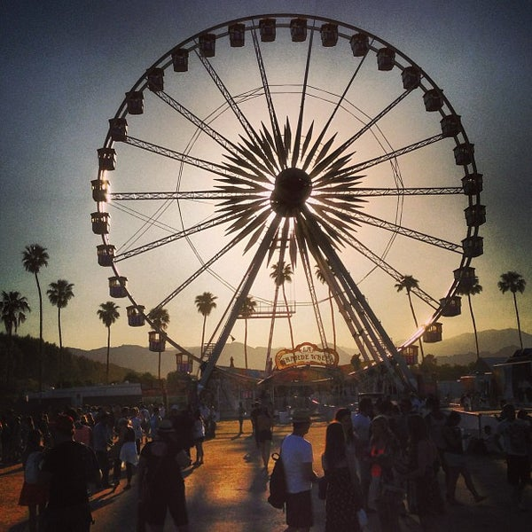 Photo taken at Coachella Valley Music and Arts Festival by J. Sperling R. on 4/21/2013
