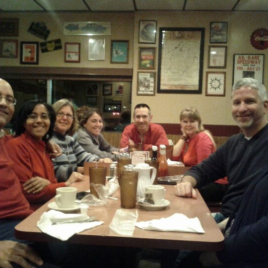 Photo taken at Bunnies Hasty Tasty Pancake House by Jim S. on 12/17/2012