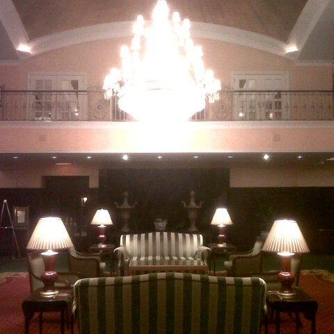 Photo taken at Amway Grand Plaza Hotel by Alex K. on 11/1/2012